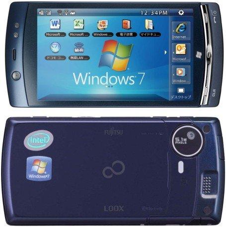 Dual-boot Windows 7 si Symbian Fujitsu LOOX F-07C