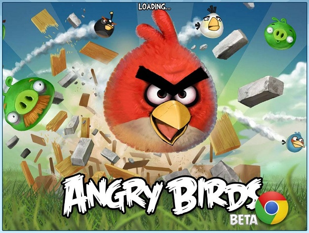 angry birds PC chrome beta