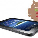 galaxy tab update Gingerbread