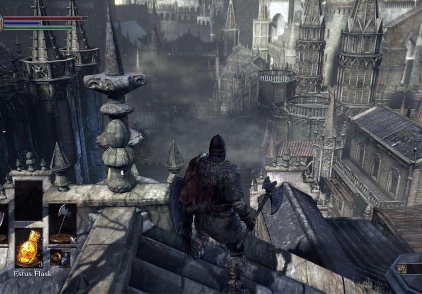 DarkSouls III in game play